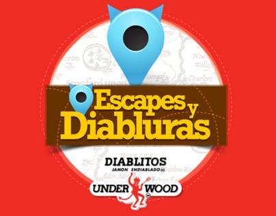 Escapes y Diabluras App Campaign