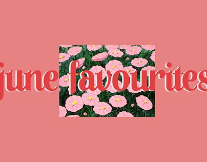 .june favourites .long series #1