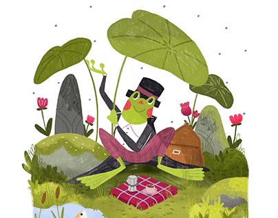 Clodoaldo, the Brazilian Frog
