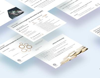 Financial presentation | ppt template