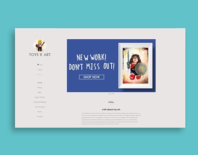 Toys 'R' Art | Web Design & Development