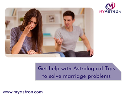 Astrological Tips to solve marriage problems