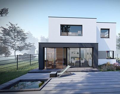HOUSE 2A_SINGLE FAMILY HOUSE DESIGN