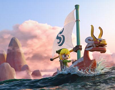 The Legend of Zelda Wind Waker Fanart