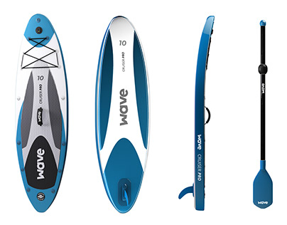 Surfboard 3D product Visualizations