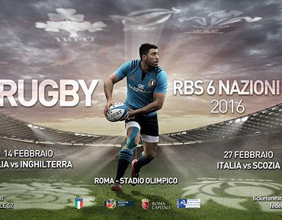 6 Nazioni 2016 - Campagna ADV