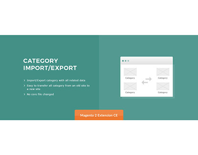 Category Import/Export Magento 2 Extension