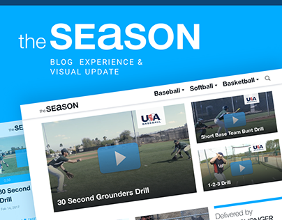 theSeason Blog Design