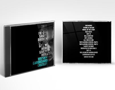 Watsky CD redesign