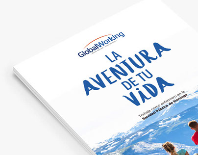 Global Working: Redesign branding & dossier