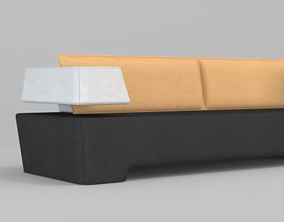 AMOX sofa design