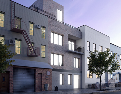 Residential complex, NYC - USA