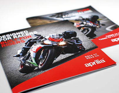 Aprilia RSV4 RF/RR Brochure & Video production