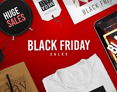 Complete Black Friday Branding Set