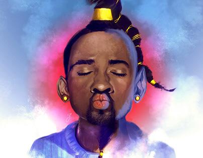 Digital Portraiture: Will be Genie