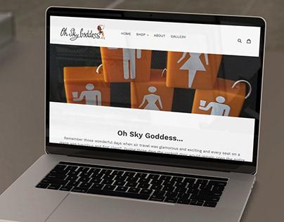 Website Design & Development for ''OH SKY GODDESS''