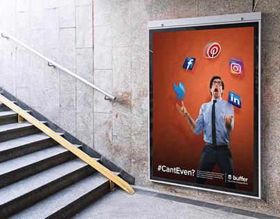 Buffer Subway Sign Advertisement