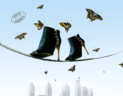 "Steve Madden Ad Concept ""High Heights"""