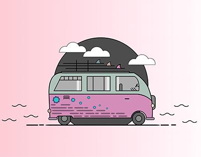 Little Hippie Truck