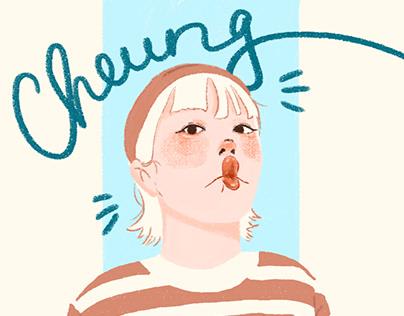 [Illustration] Friends's portrait