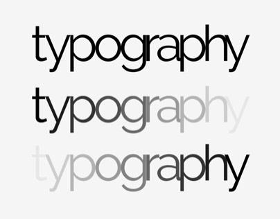 Dance of Typography