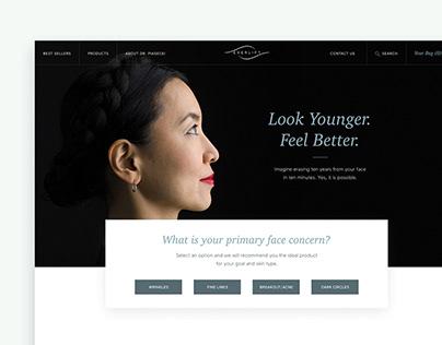 Everlift|Luxury cosmetics e-commerce redesign