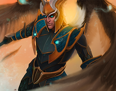 SKYWRATH MAGE (DOTA 2)