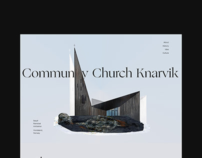 Community Church Knarvik / Architectural landing