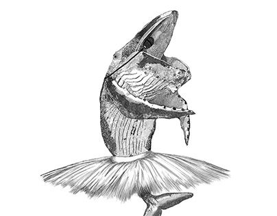 Tiny Dancer - Digital Illustration