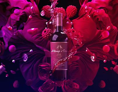 """""""Ménage à Trois"""" Wines"""