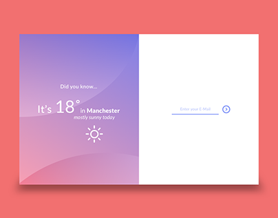 Sign-In screen concepts