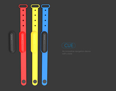 Cue | a navigation device with a twist.