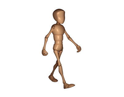 Walk Cycle (Body Mechanics)