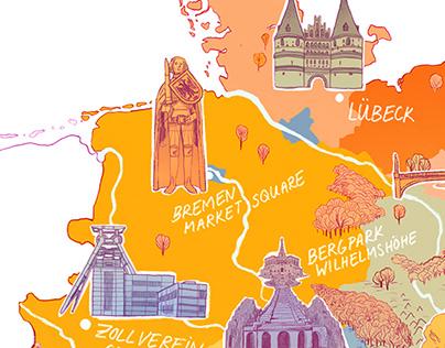 UNESCO Map - Culture Trip