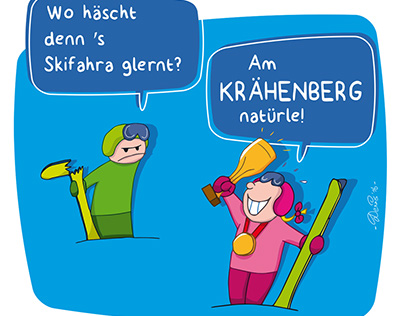 Skilifte Krähenberg Sibratsgfäll