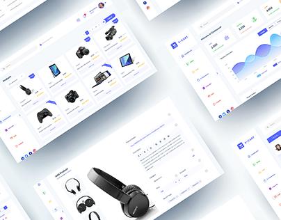 E-Commerce Admin Dashboard UI