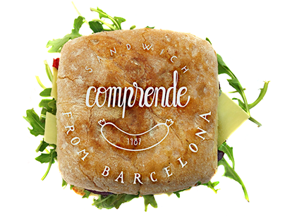 "Branding and Design ""Sandwich Comprende"""