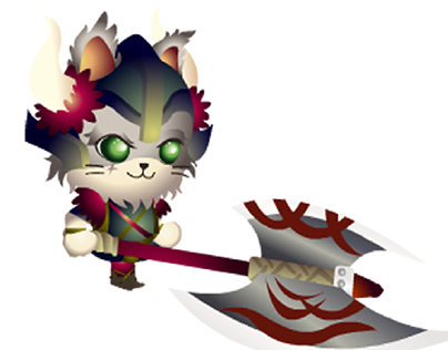 Character Design and Animation: Viking Cat