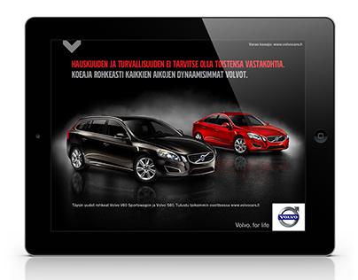 Volvo Car | The Economist magazine iPad ad
