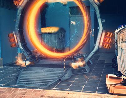 Portal VFX + Breakdown