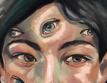 Eyes; digital Sketch