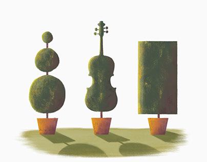 Musical Topiary