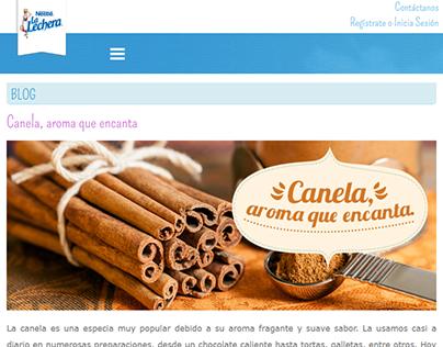 Redacción de Artículos Blog :: La Lechera