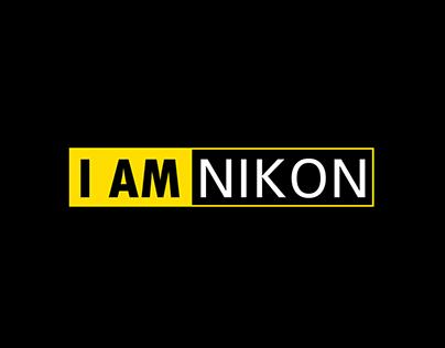 nikon i am nikon campaign on behance