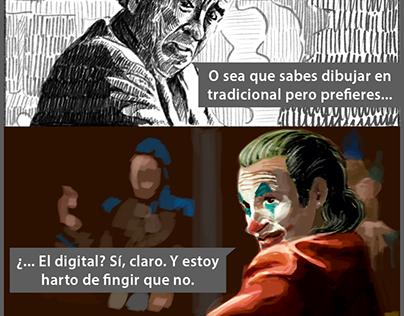 Meme digital - Joker - 2020