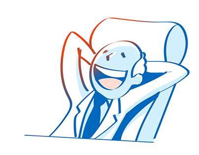 Microsot HR guide illustration