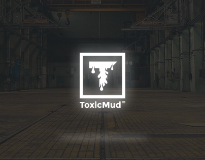 ToxicMud - logo, website and icons design concept