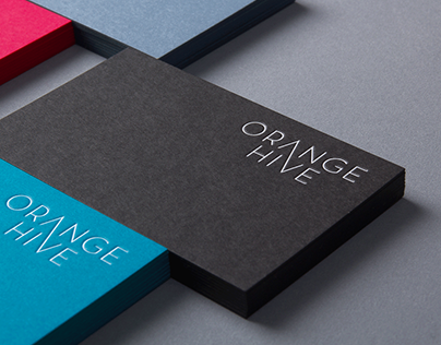 ORANGE HIVE // CI BUSINESS CARDS