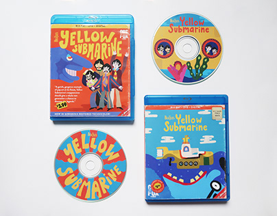 Yellow Submarine DVD Covers