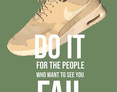 Nike Posters | typografie